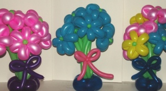 Как сделать цветок из шаров своими руками