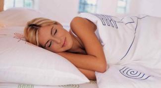 Выбираем подходящую подушку