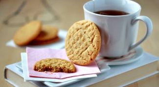 Как приготовить печенье с арахисовым маслом