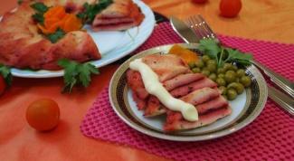 Куриный кекс-суфле с прослойкой