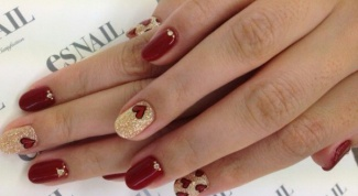 Как нарисовать сердечко на ногтях