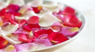 3 способа использования лепестков роз