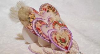 Как сделать многослойную открытку к Дню Святого Валентина