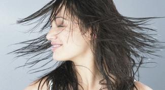 Массаж головы, питание и укрепление волос
