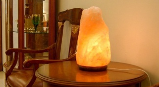 The harm and benefit of salt lamps