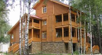 Энергосберегающие деревянные бревенчатые дома: плюсы и минусы