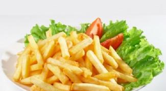 Лучшие рецепты картофеля фри
