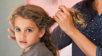 Grey hair in children.
