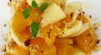 Медовые салаты