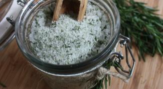 Как сделать ароматизированную соль самостоятельно