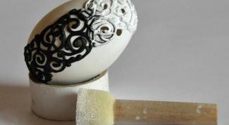 Как сделать декор яйца в винтажном стиле