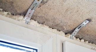 Как крепится пластиковое окно к стене