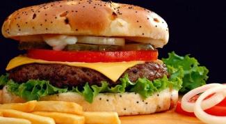 Рецепт диетического гамбургера
