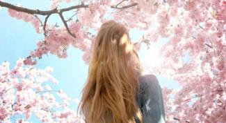 Красивые волосы весной