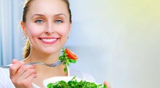 Примеры рациона питания при похудении