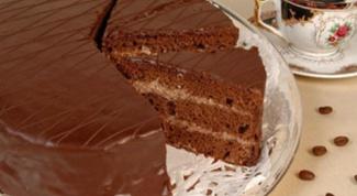 Торт бисквитный «Нежное чудо»