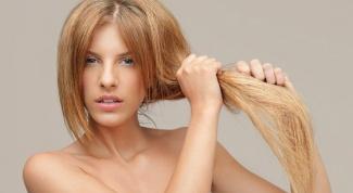 Рецепт маски для сухих кончиков волос