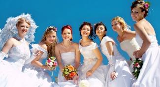 К чему снятся невесты в белых платьях