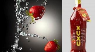 Как пить ликер  XuXu