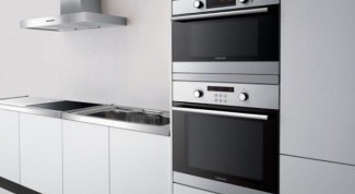 How to position the socket for the oven