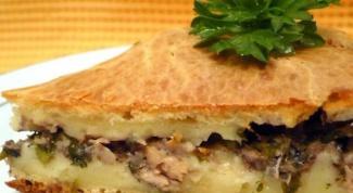Рецепт вкусного пирога с рыбой