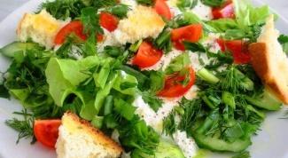 Рецепты салатов на быструю руку