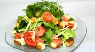 Рецепт салата из слабосоленой форели