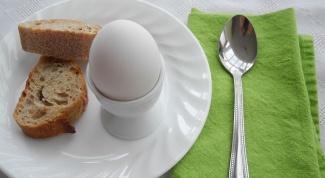 Какая калорийность у одного яйца всмятку