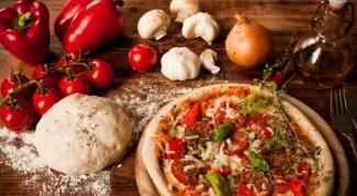 Рецепт сочного теста для пиццы
