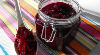 Recipe pickled beets for the winter