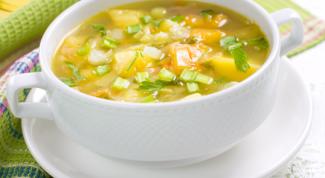 Как сварить легкий овощной суп