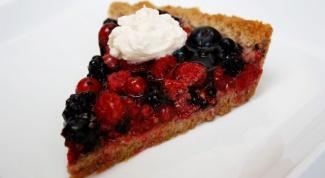 Ягодный-ягодный пирог