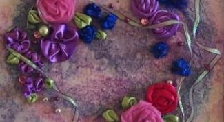 Как сделать панно из цветов своими руками