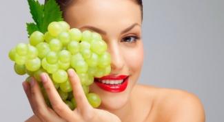 Виноградные маски для кожи вокруг глаз