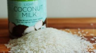 Готовим рис с кокосовым молоком