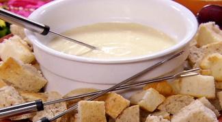 Как приготовить классическое сырное фондю