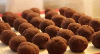 Шоколадные орешки