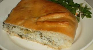 Как приготовить рыбный пирог с рисом