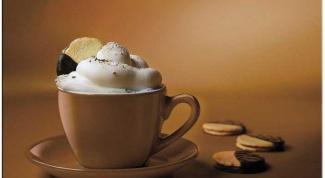 Кофейный коктейль с медом