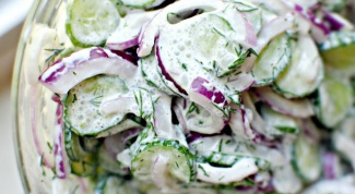 Рецепт вкусного салата со сметаной