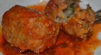Recipe of meatballs with rice in the oven