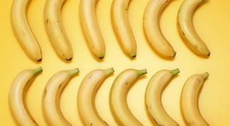 Какие витамины содержатся в бананах