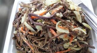 Как приготовить салат из папоротника