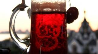 Как сделать вишневое пиво