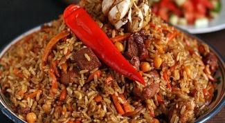 Какой рис лучше подходит для плова