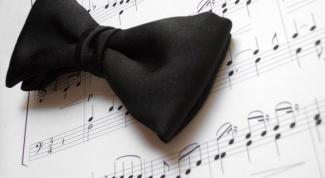 Как сделать выкройку галстука бабочки