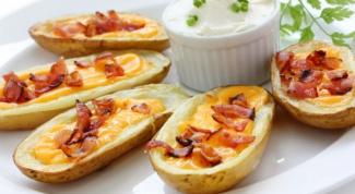Как приготовить картофельные лодочки