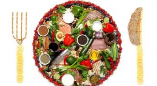3 основных правила здорового питания