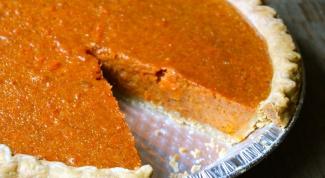 Сметанный пирог с морковью