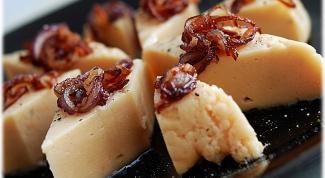 Гороховый сыр